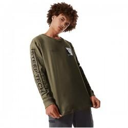 Мъжка тениска с дълъг ръкав L/S STEEP TECH TEE BURNT OLIVE GRN