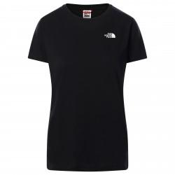 Дамска тениска W S/S SD TEE TNF BLACK
