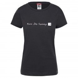 Дамска тениска W S/S NSE TEE TNFBLACK/TNFWHT