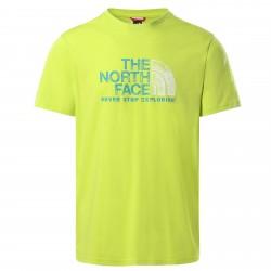 Мъжка тениска M S/S RUST 2 TEE SULPHR SPR GRN