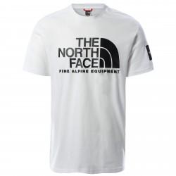 Мъжка тениска M SS FINE ALP TEE 2 TNF WHITE