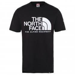 Мъжка тениска M SS FINE ALP TEE 2 TNF BLACK