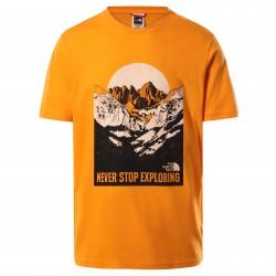 Мъжка тениска M S/S NW TEE LTEXUBERANCEORG