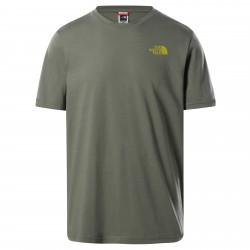 Мъжка тениска M S/S NW TEE AGAVE GREEN