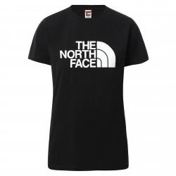 Дамска тениска W S/S EASY TEE TNF BLACK