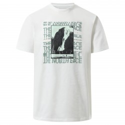 Мъжка тениска M WARPED GRPH TEE TNF WHITE