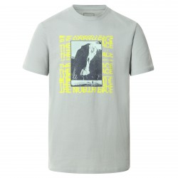 Мъжка тениска M WARPED GRPH TEE WROUGHT IRON