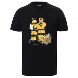 Детска тениска Y S/S GRAPHIC TEE TNFBLKHMSTPRINT