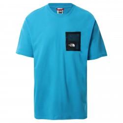 Мъжка тениска M BLACK BOX CUT TEE MERIDIAN BLUE