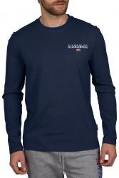 Мъжка блуза S-ICE LS 1 - MEDIEVAL BLUE