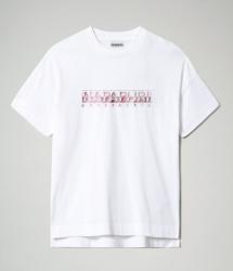 Дамска тениска SILEA SS - BRIGHT WHITE
