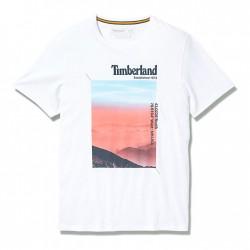 Мъжка тениска Photographic T-Shirt for Men in White