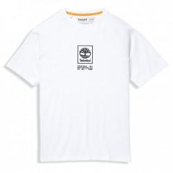 Мъжка тениска Heavyweight Logo T-Shirt for Men in White
