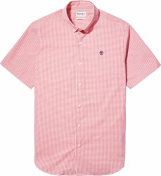 Мъжка риза Suncook River Micro-gingham Shirt For Men In Pink