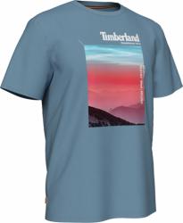 Мъжка тениска Photographic T-Shirt for Men in Blue