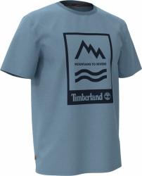 Мъжка тениска SS MTR PRINT CREW TEE in Blue