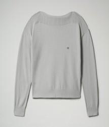Дамска блуза DILEO W - MEDIUM GREY MELANGE