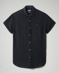 Мъжка риза GERVAS SS 3 - BLU MARINE
