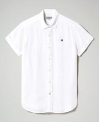 Мъжка риза GERVAS SS 3 - BRIGHT WHITE