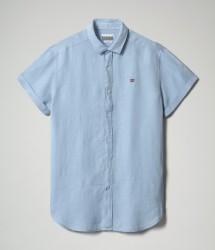 Мъжка риза GERVAS SS 3 - LTG BLUE