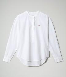 Дамска риза GHIO - BRIGHT WHITE