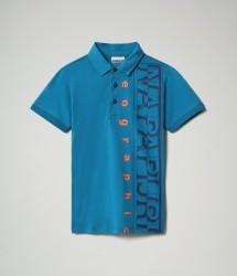 Детска тениска K EADYR - MYKONOS BLUE