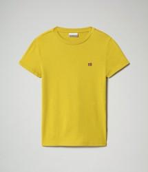 Детска тениска K SALIS SS - YELLOW MOSS