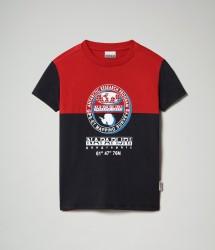 Детска тениска K SAUCK - BLU MARINE