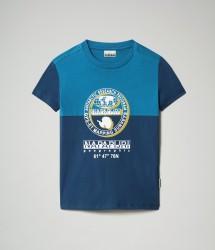 Детска тениска K SAUCK - POSEIDON BLUE