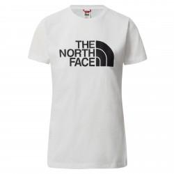 Дамска тениска W S/S EASY TEE TNF WHITE