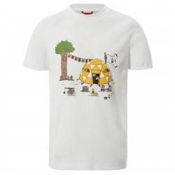 Детска тениска Y S/S GRAPHIC TEE TNFWHTDMTNTPRNT
