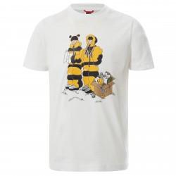 Детска тениска Y S/S GRAPHIC TEE TNFWHTHMSTPRINT
