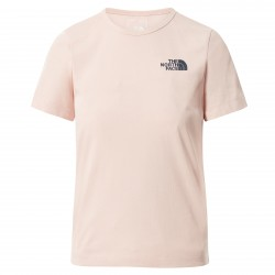 Дамска тениска W S/S HIM BOTTLE TEE EVENNG SAND PNK