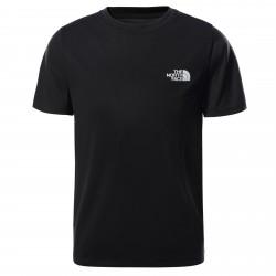 Детска тениска Y S/S REACT TEE TNF BLACK