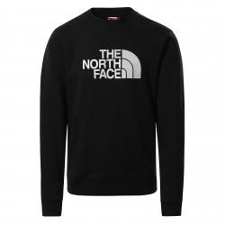 Мъжка блуза M DREW PEAK CREW TNFBLACK/TNFWHT