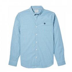 Мъжка риза Suncook River Gingham Shirt for Men in Blue