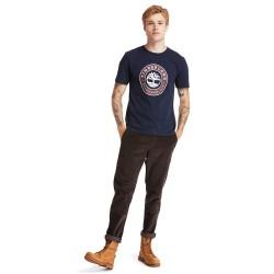 Мъжка тениска Little Cold River T-Shirt for Men in Navy