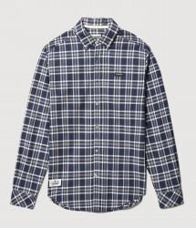 Мъжка риза GEMIAN GREY CHECK