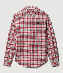 Мъжка риза GEMIAN RED CHECK