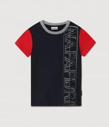Детска тениска K SAOBAB SS BLU MARINE