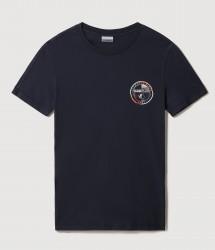 Мъжка тениска SEBILBA SS BLU MARINE