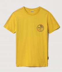 Мъжка тениска SEBILBA SS YELLOW CURRY