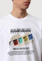 Мъжка тениска SIRUS WHT GRAPHIC F6X