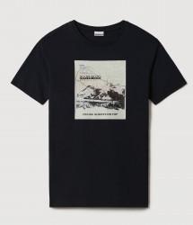Мъжка тениска SIRUS WHT GRAPHIC F6Y