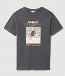 Мъжка тениска SIRUS WHT GRAPHIC F6Z