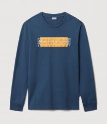 Мъжка блуза S-SORAPIS BLUE FRENCH