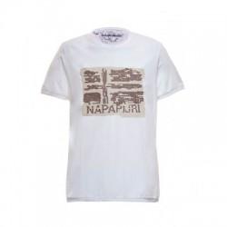 Мъжка тениска SUALL BRIGHT WHITE